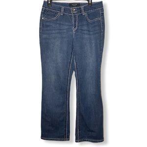 Nine West Missy 6 Regular Average Bootcut Jeans